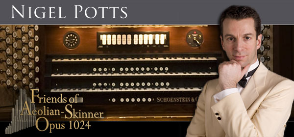 Nigel Potts-Concert Organist